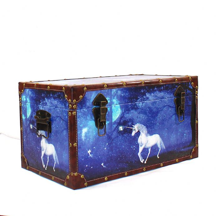 Unicorn| Vintage Trunk|Storage |Gifts for children|Trunks|